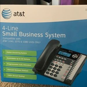 Telephone 4 line small business system